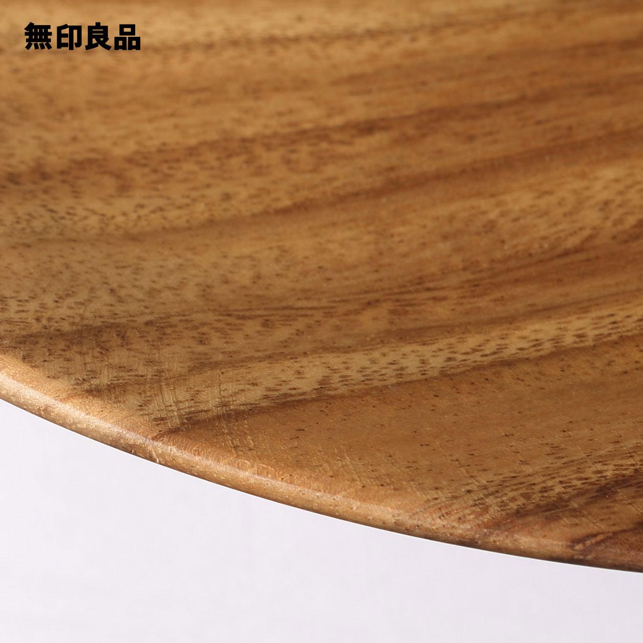 【無印良品公式】アカシアプレート約直径15×高さ2cm