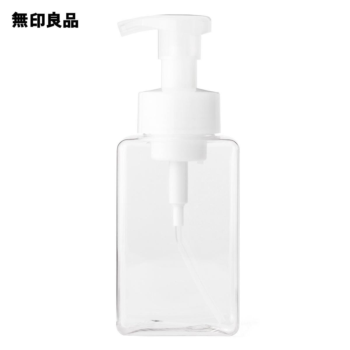 【無印良品 公式】PET詰替ボトル・泡タイプ・クリア・400ml用