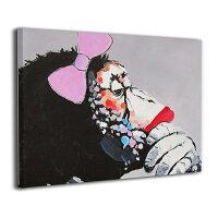 アートパネルアートフレームポスターミュジックゴリラフレームレス装飾画壁掛け印刷する絵画玄関インテリアタペストリーおしゃれ40x50cm