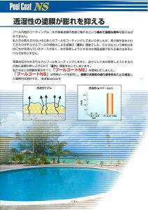 【送料無料大同塗料プールコートNS標準色4kg