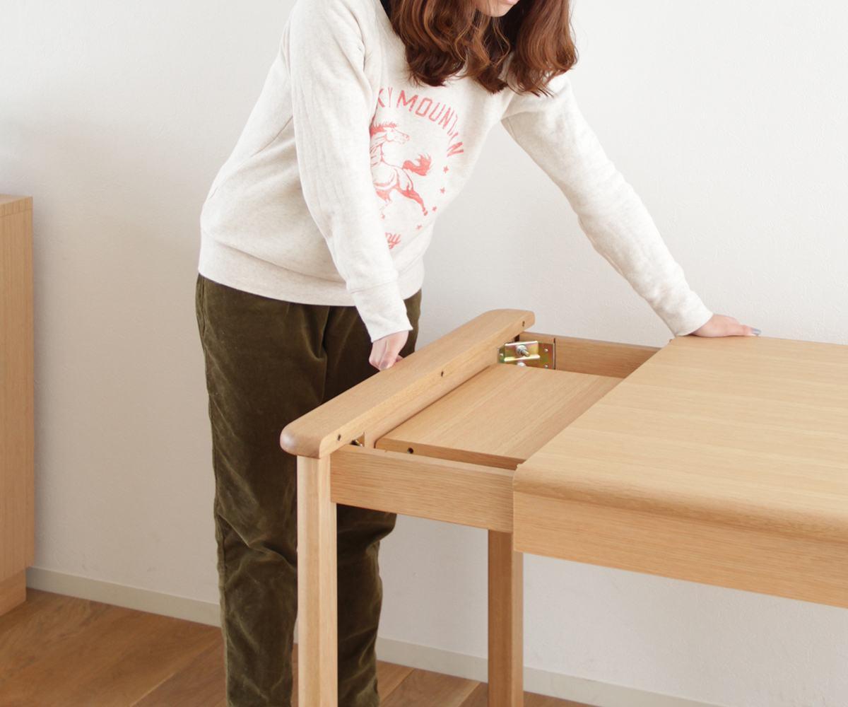 【天然木ダイニングテーブル】旭川家具メーベルトーコーMARCH(マーチ)テーブル