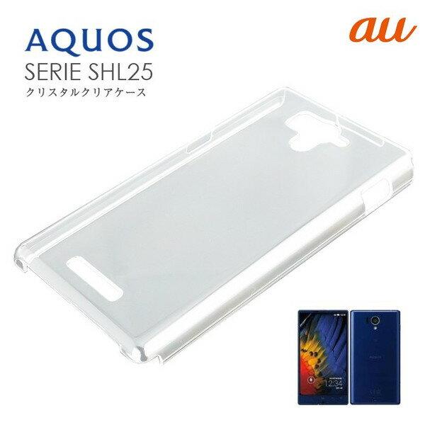 【スマホケース】SHL25 AQUOS PHONE専用クリアケース SHL25 AQUOS PHONE シンプル クール(スマートフォン・タブレット スマートフォン・携帯電話用アクセサリー ケース・カバー)