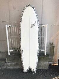 中古サーフボード/BORDサーフボード/5'10×19'?(48cm)×2'5/8/シングルフィン