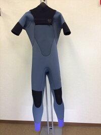 中古ウエットスーツ/バックジップ・長袖タッパー/メンズSサイズ