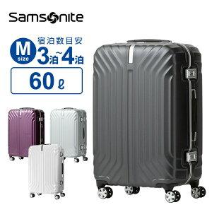 【30%OFF】サムソナイト Samsonite スーツケースTRU-FRAME トゥルーフレーム Mサイズ 68cm 無料預入受託キャリーケース キャリーバッグ フレームタイプ 4輪 ダブルキャスター 60L ギフト ※ラッピング
