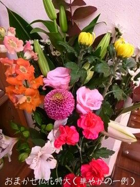 仏花 特大 1束【お墓参りの花】【生花】【ご仏壇の花】 【お供え花束】【法事用花束】【RCP】