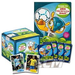 """【予約ECM19】PANINI World Cup """"Road to 2014 Brasil"""" オフィシャルステッカー【サッカー/ワールドカップ/コレクション/トレカ/FIFA】"""