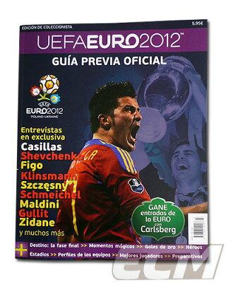"""UEFA公認 ユーロ2012公式ガイドブック """"UEFA EURO2012 GUIA PREVIA OFICIAL"""" 【サッカー/欧州選..."""