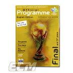 2006 FIFAワールドカップ ドイツ大会 決勝プログラム(英語版) イタリア代表vsフランス代表【サッカー/World Cup/ジダン/カンナバーロ/トッティ/ピルロ】