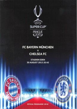 【予約PRO11】UEFAスーパーカップ 2013 プログラム バイエルンミュンヘン vs チェルシー【サッカー/UEFA/CHELSEA/BAYERN MUNCHEN】ネコポス対応可能