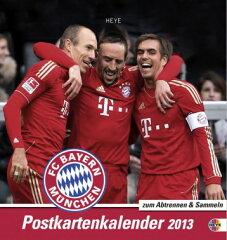 バイエルン・ミュンヘン 2013 ポストカードカレンダー【ブンデスリーガ/ドイツ代表/サッカー/ロ...