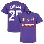 【予約RET06】RE-TAKE フィオレンティーナ Team Tシャツ 25番 フェデリコ・キエーザ【サッカー/Fiorentina/Chiesa/セリエA/フィオレンチーナ】ネコポス対応可能