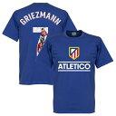 【予約RET06】RE-TAKE Atletico Madrid GALLRY Tシャツ 7番 グリーズマン ブルー【サッカー/Griezmann/フランス代表/アトレチコマドリード】ネコポス対応可能