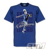 【予約RET01】RE-TAKE ファビオ・カンナバーロ アズーリ レジェンドTシャツ ブルー【サッカー/Italy/イタリア代表/Cannavaro】メール便発送可能