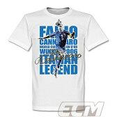 【予約RET01】RE-TAKE ファビオ・カンナバーロ アズーリ レジェンドTシャツ ホワイト【サッカー/Italy/イタリア代表/Cannavaro】メール便発送可能