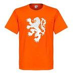 【予約RET01】RE-TAKE オランダ代表 ライオンTシャツ オレンジ【サッカー/ワールドカップ/Holland】ネコポス対応可能