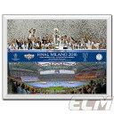 【レアル優勝記念】UEFA252UEFAチャンピオンズリーグ15-16 レアルマドリード 優勝フォト Lサイズ【サッカー/Champions League/Real Madrid/Cロナウド/ジダン】FTO01