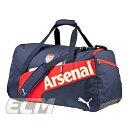 【予約ECM12】アーセナル オフィシャルグッズ ダッフルショルダーバッグ【Arsenal/サッカー/プレミアリーグ/バッグ】