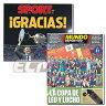 【予約ECM14】【国内未発売】FCバルセロナ コパ・デル・レイ2017 優勝翌日現地新聞セット(SPORT & Mundo Deportivo)【FC Barcelona/サッカー/メッシ/ネイマール】