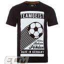 【予約DFB18】【国内未発売】ドイツ代表 オフィシャル TEAMGEIST Tシャツ ブラック【ワールドカップ/サッカー/Germany】ネコポス対応可能