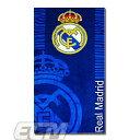 【予約ECM12】【国内未発売】レアルマドリード オフィシャルクレストタオル ブルー【サッカー/Real Madrid/スペインリーグ/Cロナウド】