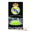 【予約ECM12】【国内未発売】レアルマドリード オフィシャル スタジアムタオル【サッカー/Real Madrid/スペインリーグ/Cロナウド】
