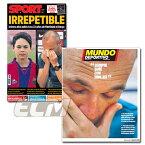 【国内未発売】FCバルセロナ イニエスタバルサ退団会見 翌日現地新聞セット(SPORT & Mundo Deportivo)【FC Barcelona/サッカー/メッシ/イニエスタ】ECM14