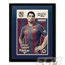 【予約FTO01】ルイス・スアレス FCバルセロナ 16-17 額入りフォト(PFA680)【サッカー/スペインリーグ/Suarez/FC Barcelona】FTO01