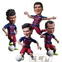 【予約TRK01】FCバルセロナオフィシャルグッズTOYS ROCKA! FCバルセロナ メッシ、ネイマール、スアレス、イニエスタ フィギュア【サッカー/FC Barcelona/Messi/Suarez/Neymar/Iniesta/スペインリーグ】
