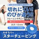 【送料無料】ネオラバースターチュービングブルー13mm1.5mある程度運動習慣のある方にフィットネスチューブトレーニングチューブカラーチューブ青