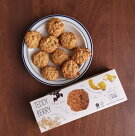モンドディラウラテディベリー乳製品不使用クッキー130gMondoDiLaura[正規輸入品]