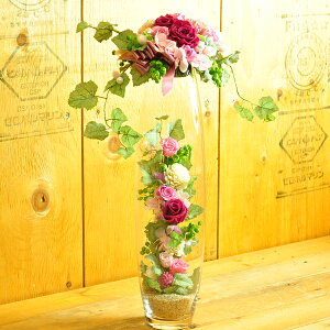 【プティ・バルーンL】プリザーブドフラワーギフトと観葉植物のお店ムニュムニュ【FlowerMunyuMunyu】