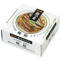 K&K国分缶詰缶つまプレミアムびわ湖産稚鮎油漬け80g缶