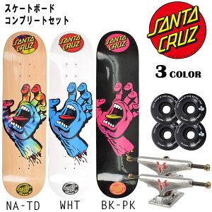 ○【送料無料】★スケートボードコンプリートセット SANTA CRUZ サンタクルーズ MB S.HAND CC E5