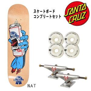 ○【送料無料】★スケートボードコンプリートセット SANTA CRUZ サンタクルーズ MB PBR HAND CC E8