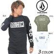 SALE セール 50%OFF メンズ 長袖 Tシャツ VOLCOM ボルコム Knock L/S Tee A3631600 DD3 H22