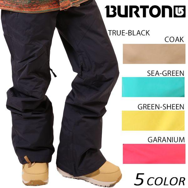 バートン WZ SCOCIETY Pants 16-17モデル