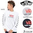 メンズ 長袖 Tシャツ VANS バンズ VA17SS-MT35 EE1 A10