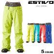送料無料 SALEセール 大特価 レディース スノーボードウェア パンツ ESTIVO エスティボ EVW3527 15-16モデル CC J23