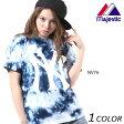SALE セール 20%OFF レディース 半袖 Tシャツ Majestic マジェスティック MW01-NYK-0014 EX1 C12