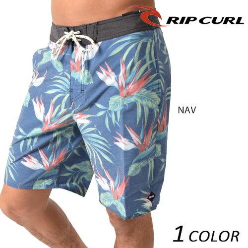 送料無料 メンズ 水着 海水パンツ RIPCURL リップカール V01-517 ボードショーツ 19インチ丈タイプ...