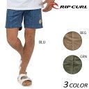 メンズ ショートパンツ RIPCURL リップカール V01...