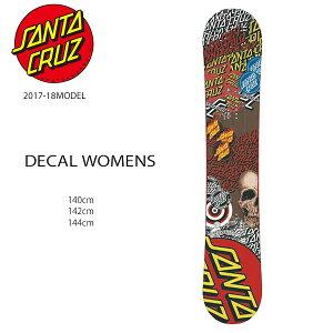 スノーボード 板 SANTACRUZ サンタクルーズ DECAL WOMENS デカール レディース 17-18モデル EE H9