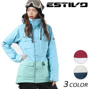 送料無料 スノーボード ウェア ジャケット ESTIVO エスティボ EV-TRIBAL JK EVW1730 17-18モデルレディース EX J27