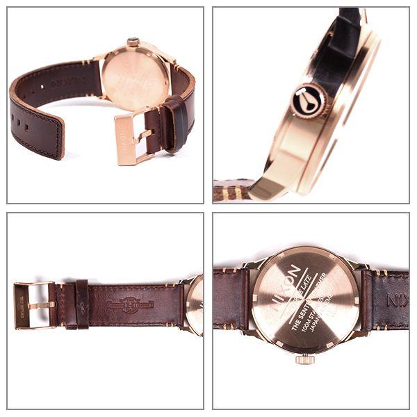 時計 NIXON ニクソン SENTRY LEATHER セントリーレザー A105 EE K14
