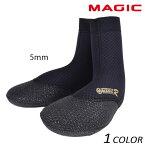 送料無料 SALE セール 20%OFF サーフィン ブーツ MAGIC マジック 5mm ROYAL HB SOX 29460 EEF L4