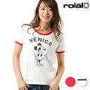 レディース 半袖 Tシャツ roial ロイアル CO30G Minnie Mouse ミニーマウス FF1 C3