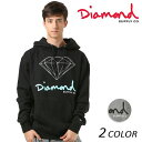 メンズ パーカー Diamond Supply Co. ダイヤモンド サプライ LOGO OG SIGN HOODIE Z18DMPF002CR FF1 D3