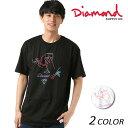 メンズ 半袖 Tシャツ Diamond Supply Co. ダイヤモンド サプライ DESI VINO TEE A18DMPA006 FF1 D17