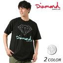 メンズ 半袖 Tシャツ Diamond Supply Co. ダイヤモンド サプライ LOGO OG SIGN TEE Z18DMPA002CR FF1 D17